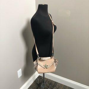 gloria milani purse leather made italy crossbody